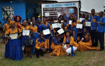Sewing Program Graduates